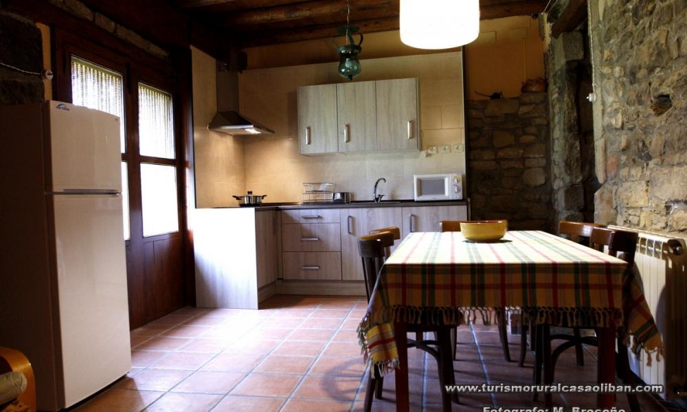 Cocina Casa Oliban